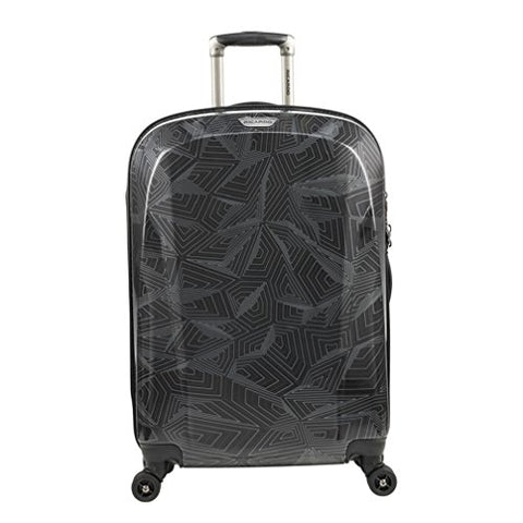 Ricardo Beverly Hills Spectrum 24-Inch 4-Wheel Spinner Luggage, Black
