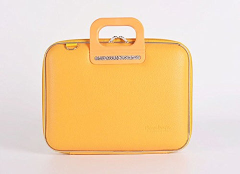 Bombata Firenze Briefcase 13-Inch (Yellow)