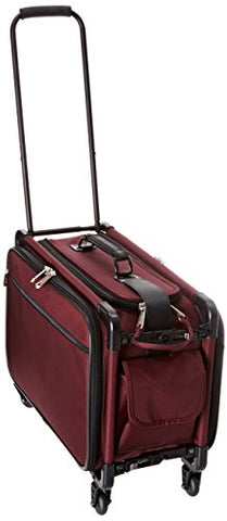 Tutto 20 Inch Retulation Carry-On, Burgundy, One Size