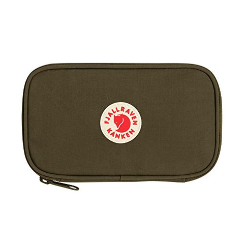 Fjallraven - Kanken Travel Wallet for Passports, Green