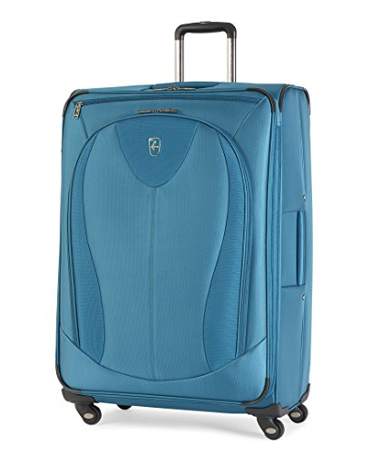 "Atlantic Luggage Ultra Lite 3 29"" Expandable Spinner, Turquoise"