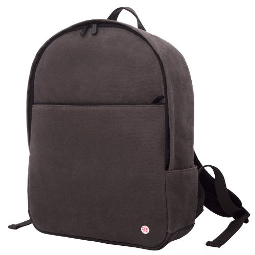 Token Bags University Waxed Backpack, Dark Brown, One Size