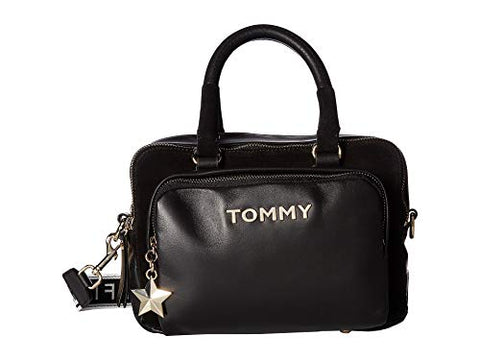 Tommy Hilfiger Women's Corporate Highlight Duffel Black One Size