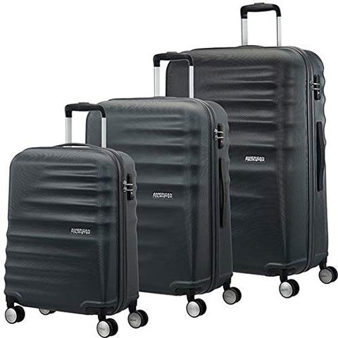 American Tourister 3 Pieces Set A, Black (Nightshade)