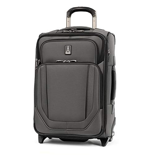 Travelpro Crew Versapack Global Carry-on Exp Rollaboard, Titanium Grey