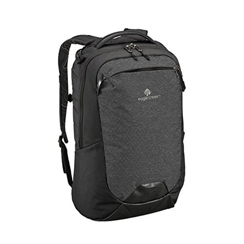 Eagle Creek Women's Travel 30l Backpack-multiuse-17in Laptop Hidden Tech Pocket, Black/Charcoal