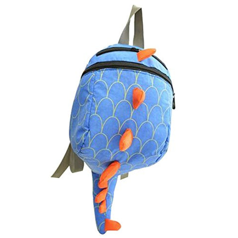 ABage Backpack Small Dinosaur Diaper Bag School Backpacks, Blue