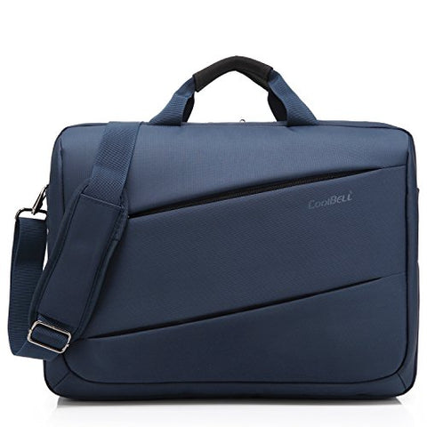 CoolBELL 17.3 inch Laptop Messenger Bag Multi-Functional Briefcase Multi-Compartment Handbag