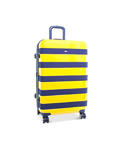 "Tommy Hilfiger Rugby 25"" Expandable Hardside Spinner, Yellow"
