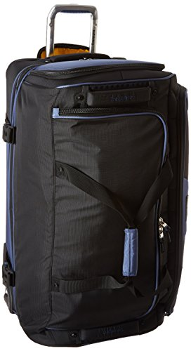 Travelpro Tpro Bold 2.0 30 Inch Drop Bottom Rolling Duffel, Black/Navy, One Size