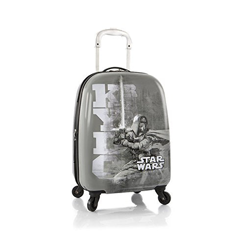 "Heys Star Wars Tween Spinner Luggage 20"" Case Expandable (Grey)"