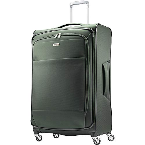 "Samsonite Eco Rev 29"" Expandable Softside Checked Spinner Luggage (Cactus/Camo"