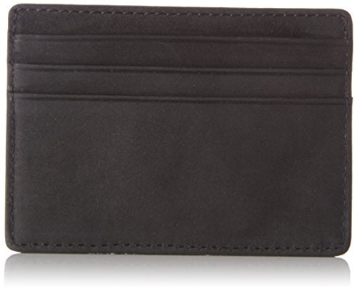 Tommy Hilfiger Emboss Cc Holder, Men's Card Case, Schwarz (Black), 0.5x7.2x10 cm (B x H T)