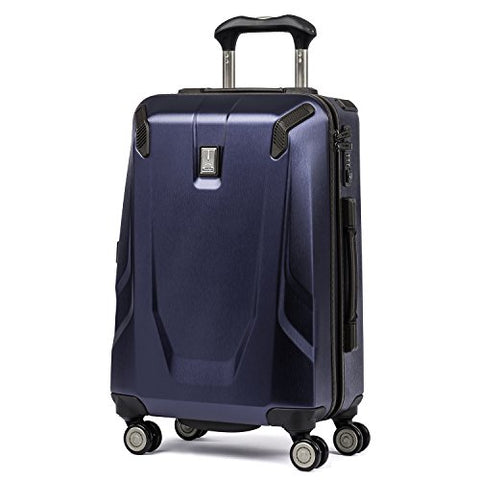 "Travelpro Luggage Crew 11 21"" Carry-On Slim Hardside Spinner W/Usb Port, Navy"