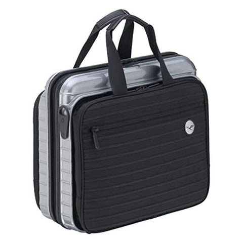 RIMOWA Lufthansa Bolero Collection laptop PC bag briefcase silver