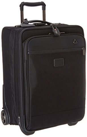 Andiamo Avanti Collection 20 Inch Intl Auto-Expand Carry-On, Midnight Black, One Size