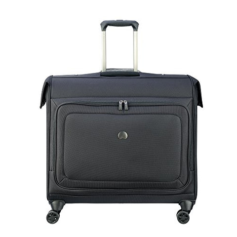 Delsey Luggage Cruise Lite Softside Spinner Trolley Garment Bag, Black