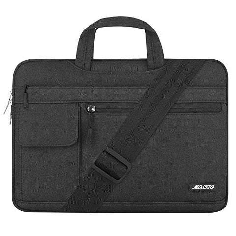 MOSISO Laptop Shoulder Bag Compatible 15-15.6 Inch MacBook Pro Retina, MacBook Pro, Dell HP Acer