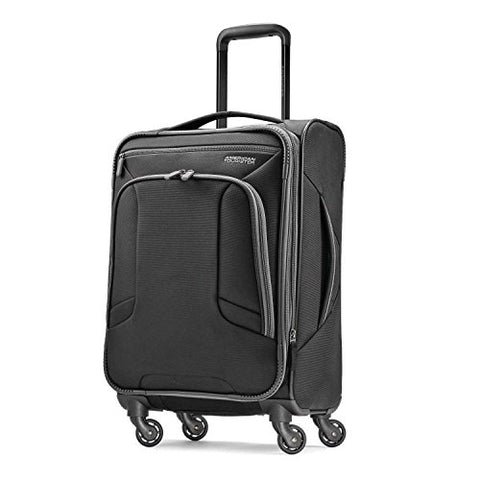 American Tourister Carry-On, Black/Grey