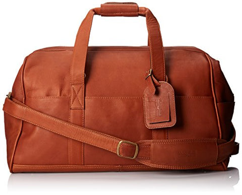 Claire Chase Vintage Duffel, Saddle, One Size