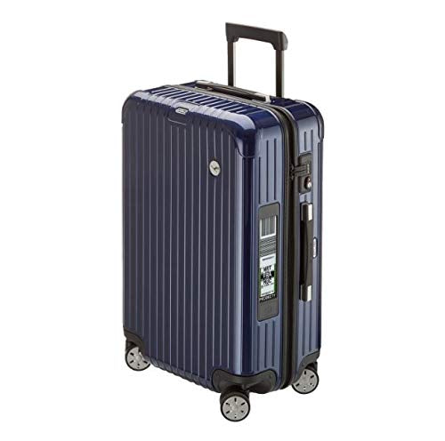 RIMOWA Lufthansa AirLight Premium Collection Multiwheel L Trolley with RIMOWA Electronic Tag, Blue 62.5L