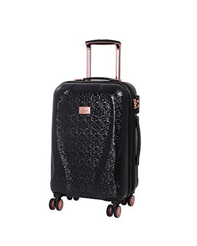 "it Girl 21.5"" Sparkle 8 Wheel Hardside Expandable Spinner with TSA Lock, Black"