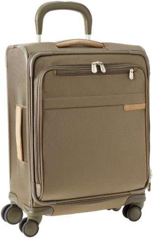 Briggs & Riley Luggage Baseline Spinner, Olive, Carry On