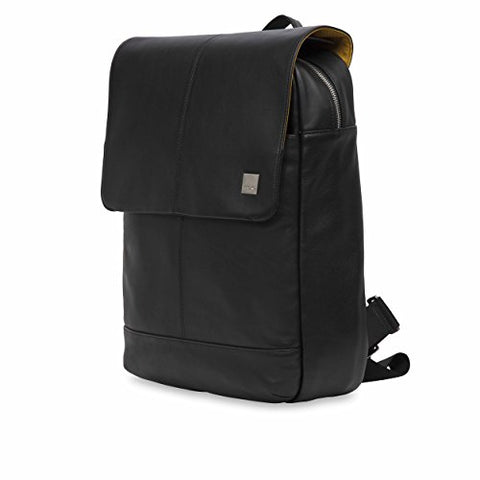 "Knomo Luggage Men'S Knomo Brompton Classic Hudson 15.6"" Business Backpack, Black, One Size"