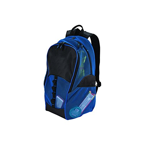 GOODHOPE Bags Travelwell Mesh Tablet Computer Backpack, Blue