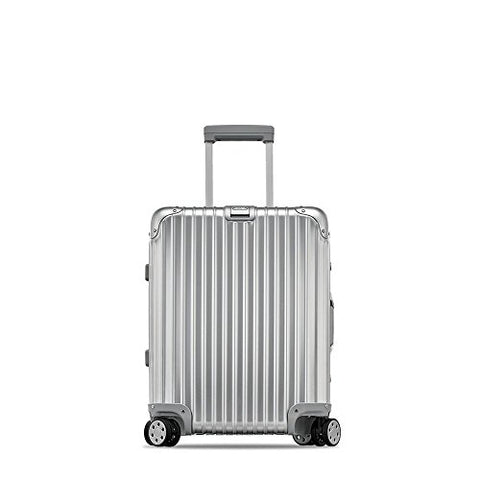 "Rimowa Topas IATA Carry on Luggage 20""Inch Cabin Multiwheel 32L Suitcase Silver"