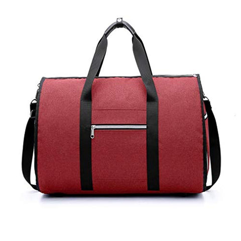 Waterproof Travel Bag Mens Garment Bags Women Travel 2 In 1 Large Luggage Carry On Leisure Hand Bag