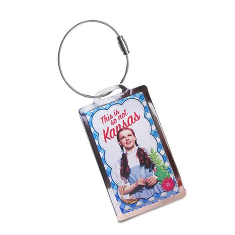 The Wizard Of Oz Metal Luggage Tag