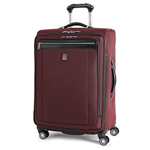 Travelpro Platinum Magna 2 Expandable Spinner Suiter Suitcase, 25-in., Marsala Red