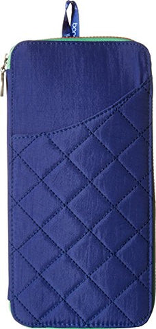 Baggallini Women's RFID Travel Wallet Royal Blue/Mint One Size