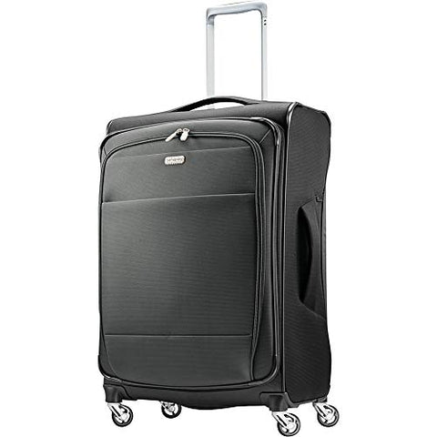 "Samsonite Eco Rev 25"" Expandable Softside Checked Spinner Luggage"