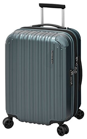 "London Fog Heathrow 21"" Expandable Spinner Carry-On, Glacier"