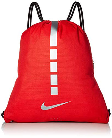 Nike Hoops Elite Basketball Gym Sack - Red/Grey