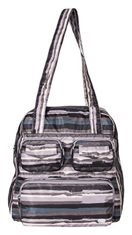 Lug Women'S Puddle Jumper Packable Carry Duffel Bag, Painted Pearl, One Size