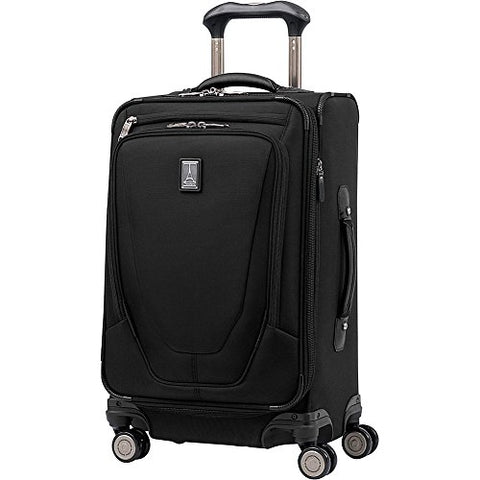 Travelpro Crew 11 International Carry-On Spinner with USB Port (Black)