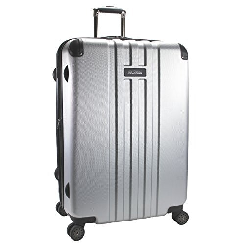 Kenneth Cole Reaction 28 Inch Abs Expandable 8-Wheel Upright Pullman Reverb, Light Silver, One Size