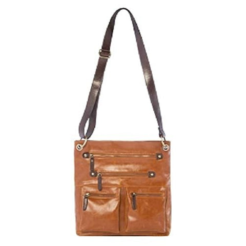 Shiraleah Harper Crossbody Bag, Saddle