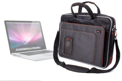 DURAGADGET Lightweight & Tough Protective 15.6 Inch Laptop Briefcase Case with Multiple