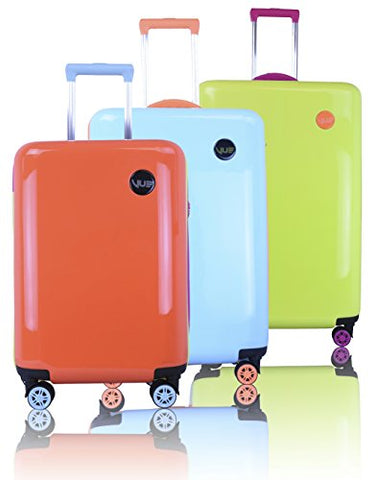 Vue Colorwave Collection Hardside Spinner Luggage - 3 PC Set