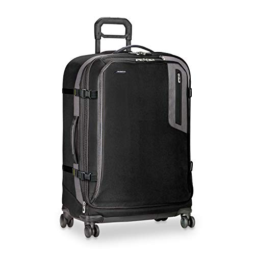 "Briggs & Riley Brx Explore Large Expandable 29""Spinner, Black, One Size"