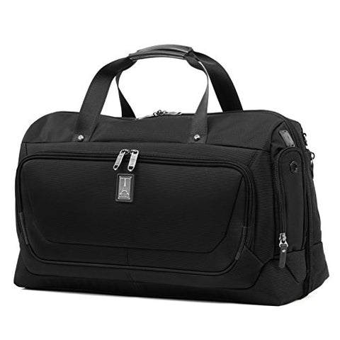 "Travelpro Luggage Crew 11 22"" Carry-on Smart Duffel with Suiter w/USB Port, Black"