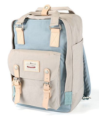 "Himawari School Functional Travel Waterproof Backpack Bag For Men & Women | 14.9""X11.1""X5.9"" 