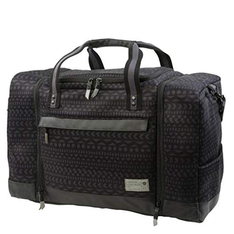 Hex Premium 21.7L Canvas Grid Sneaker Travel Duffel, Global Stripe Neoprene (GLSN), One Size