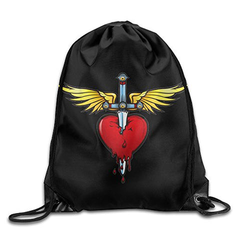 Bon Jovi Runaway Drawstring Backpack Travelling Bag