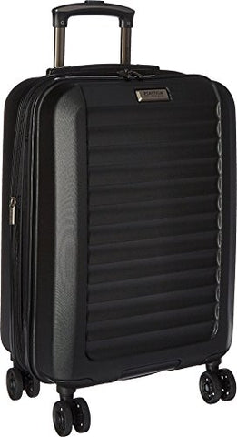 "Kenneth Cole Reaction Unisex Midtown - 20"" Expandable 8-Wheel Upright Carry On Black Luggage"
