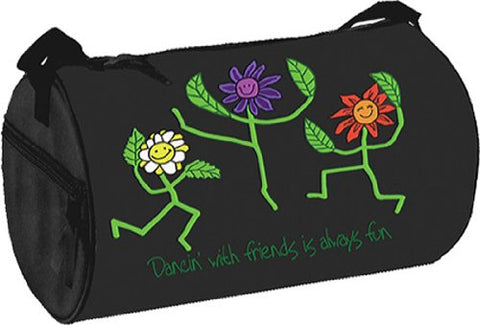 Flower Dancers Duffel